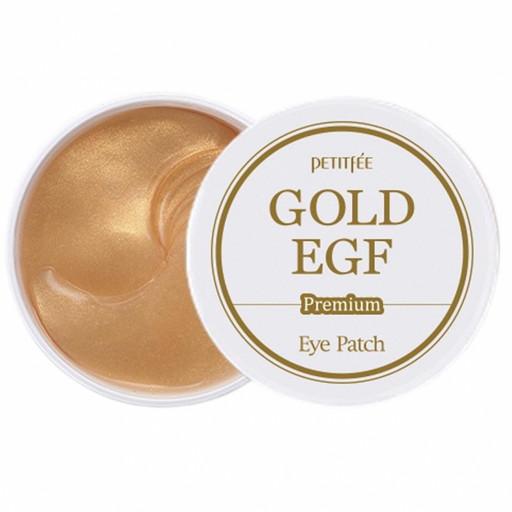 Антивозрастные гидрогелевые патчи с золотом и EGF Petitfee Premium Eye Pack Gold & EGF Eye Patch