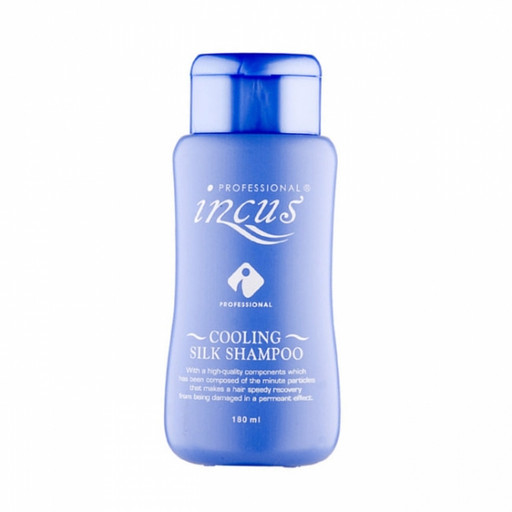 Освежающий шампунь с натуральным ментолом и шелковой системой Incus Cooling Silk Shampoo