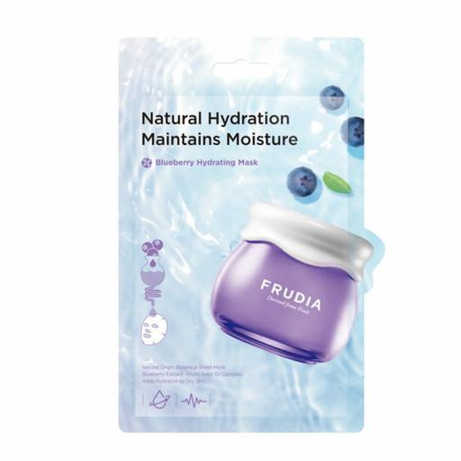 Интенсивно увлажняющая маска с черникой Frudia Blueberry Hydrating Mask