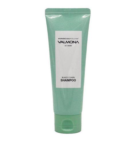 Аюрведический шампунь для оздоровления кожи головы и профилактики выпадения волос Evas Valmona Ayurvedic Scalp Solution Black Cumin Shampoo