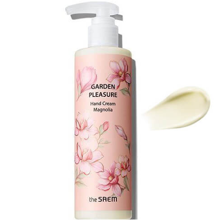 Крем для рук с экстрактом магнолии The Saem Garden Pleasure Hand Cream Magnolia