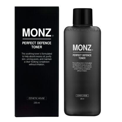 Мужской тонер для снятия раздражения кожи лица с пантенолом и ниацинамидом Esthetic House Monz Perfect Defence Toner