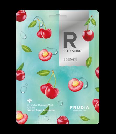 Разглаживающая тканевая маска с вишней Frudia My Orchard Squeeze Mask Cherry
