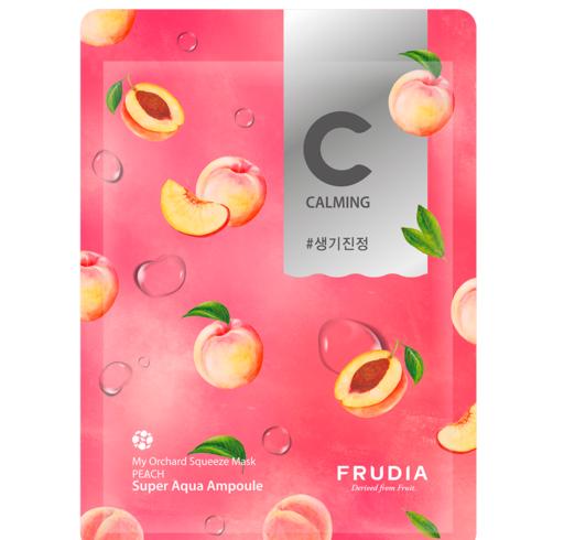 Питательная тканевая маска с персиком Frudia My Orchard Squeeze Mask Peach