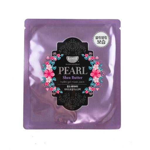 Гидрогелевая маска с маслом ши и жемчугом Koelf Pearl & Shea Butte Hydro Gel Mask Pack