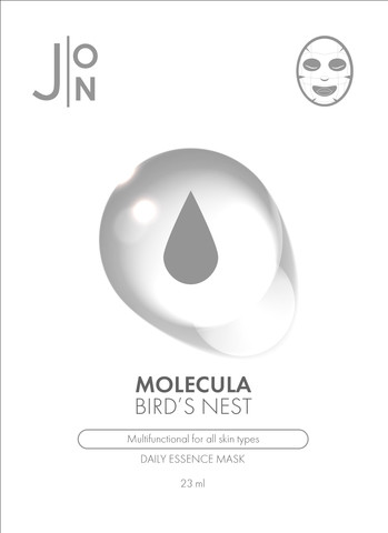 Тканевая маска для лица с экстрактом ласточкиного гнезда J:ON Bird's Nest Mask Sheet