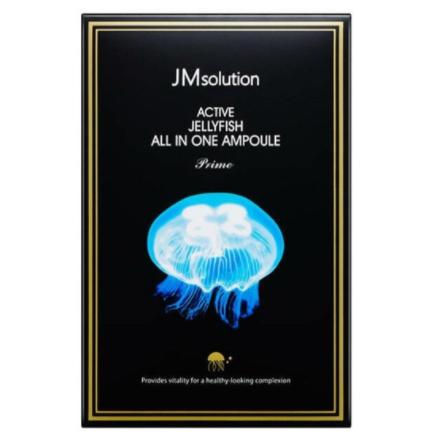 Сыворотка 3 в 1 с экстрактом медузы и коллагеном JMsolution Active Jellyfish All In One Ampoule Prime
