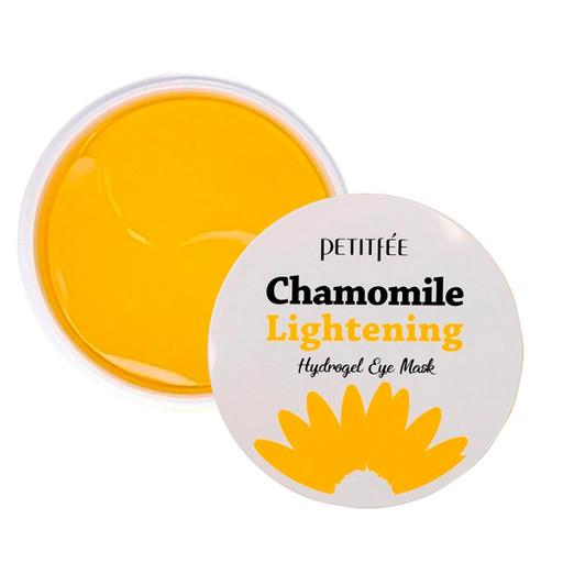 Гидрогелевые патчи от темных кругов с экстрактом ромашки Petitfee Chamomile Lightening Hydrogel Eye Mask