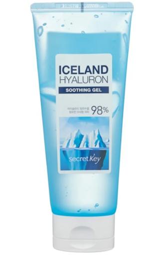 Увлажняющий минеральный гель с гиалуроновой кислотой Secret Key Iceland Hyaluron Soothing Gel