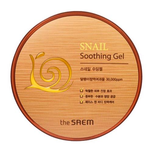 Универсальный гель с муцином улитки The Saem Snail Soothing Gel