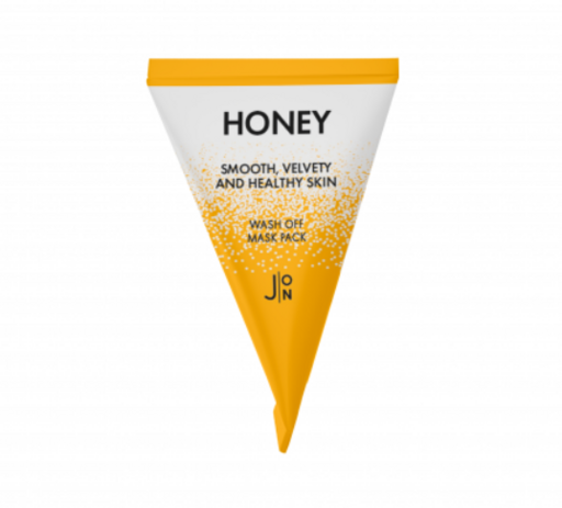 Питательная маска на основе меда и прополиса J:ON Honey Smooth Velvety and Healthy Skin Wash Off Mask