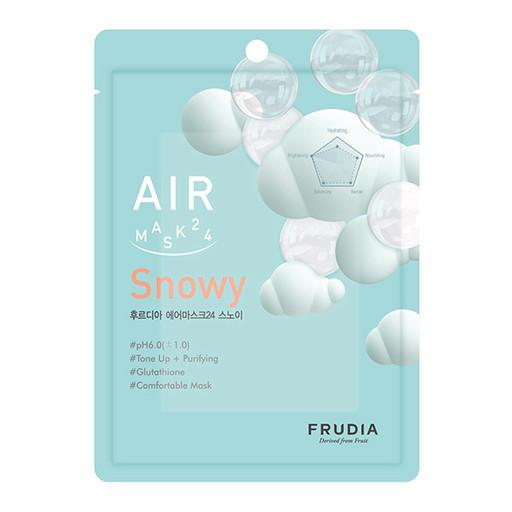 Воздушная тканевая маска для сияния кожи Frudia Air Mask 24 Snowy