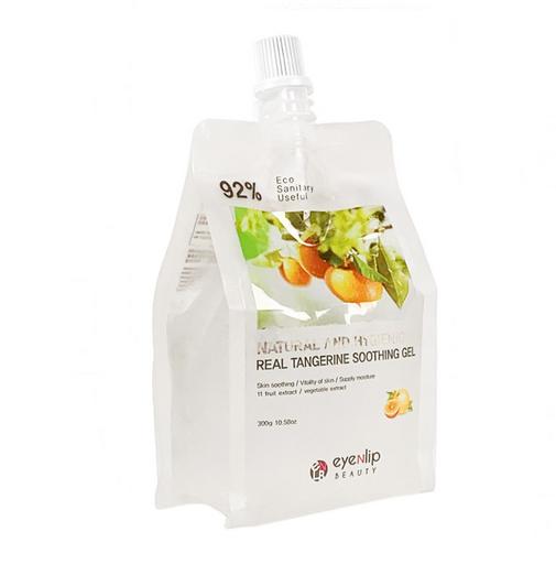 Гель для лица и тела с экстрактом танжерина Eyenlip Natural And Hygienic Real Tangerine Sooting Gel
