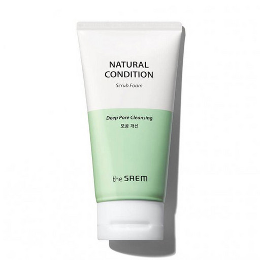 Пенка-скраб для лица The Saem Natural Condition Scrub Foam Deep Pore Cleansing