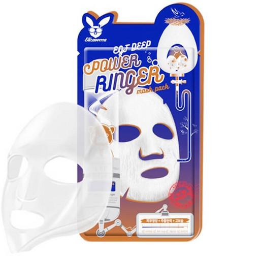 Антивозрастная тканевая маска с эпидермальным фактором роста Elizavecca EGF Deep Power Ringer Mask