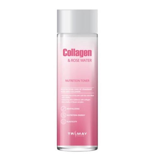 Питательный тонер с коллагеном и розовой водой Trimay Collagen & Rose Water Nutrition Toner