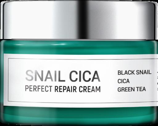 Восстанавливающий крем для лица с муцином улитки и центеллой Esthetic House Snail Cica Perfect Repair Cream