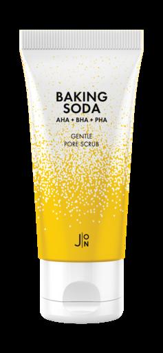 Скраб с кислотами для глубокого очищения кожи J:ON Baking Soda Gentle Pore Scrub