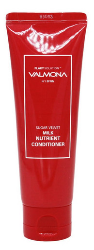 Кондиционер для увлажнения и блеска волос с молочными протеинами и экстрактами ягод Evas Valmona Sugar Velvet Milk Nutrient Conditioner