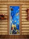 Двери стеклянные для сауны