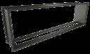 Встраиваемые сквозные очаги Standart (ZeFire)