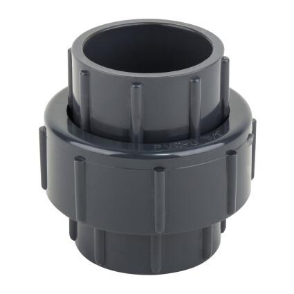Муфта разборная ПВХ с уплотнением из EPDM 20 мм