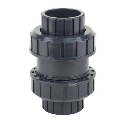 Обратный клапан шаровый ПВХ 32 мм