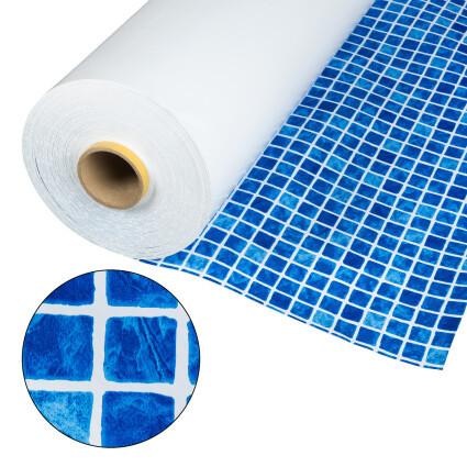 Лайнер Cefil мозаика синяя Mediterraneo 1.65x25.2 м (41.58 м.кв)