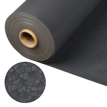 Лайнер Cefil Touch Reflection Anthracite (антрацит) 1.65x25.2 м (41.58 м.кв)