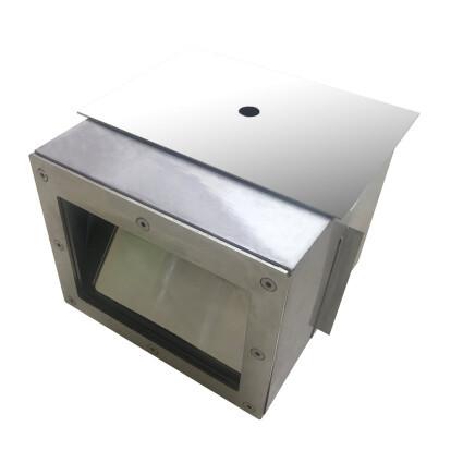 """Скиммер под бетон Aquaviva Standart квадратная крышка (2"""") нерж.сталь"""