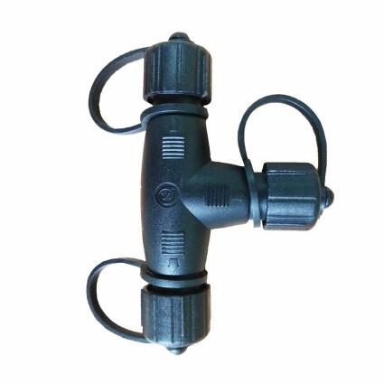Соединитель для провода AquaViva T-образный 2 pin