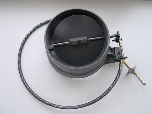 Заслонка шиберная INVICTA с гибкой тягой D200 mm