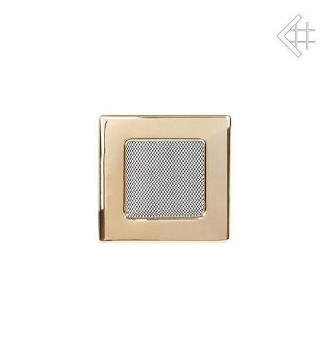 Вентиляционная решетка 11х11 полированная латунь