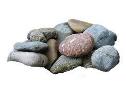 Камни Микс (талькохлорит, дунит, кварцит; 30 кг), коробка