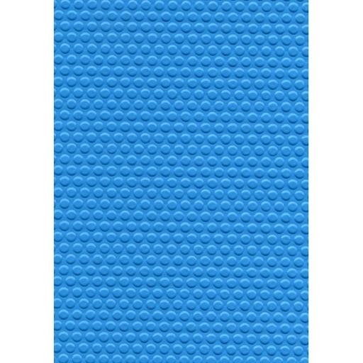 Пленка ПВХ противоскользящая, темно-голубой