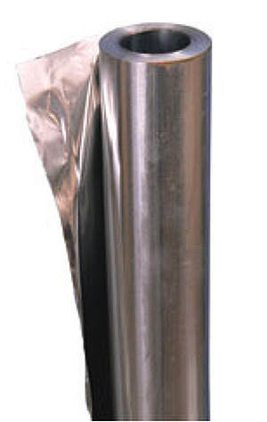 Фольга алюминиевая 80 мкм, рулон 10 кв.м, 1м ширина
