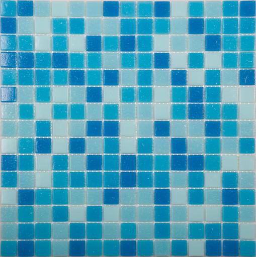 Мозаика Mix1 стекло синий (бумага)