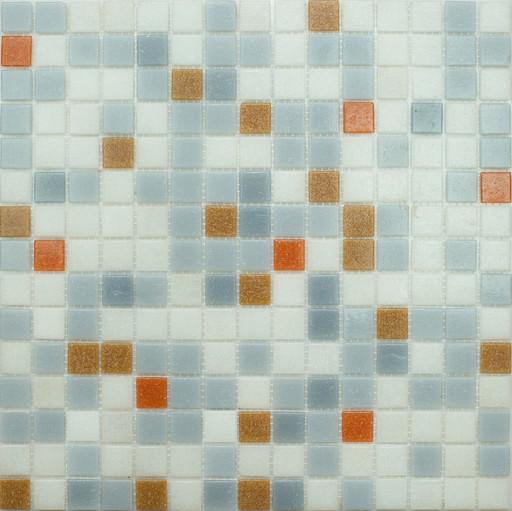 Мозаика Mix4 стекло серый (бумага)