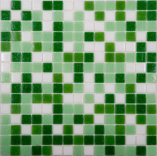 Мозаика Mix11 стекло зеленый (бумага)