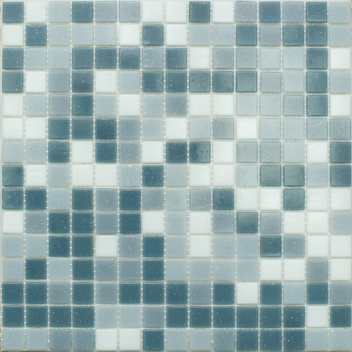 Мозаика Mix12 стекло серый  (бумага)
