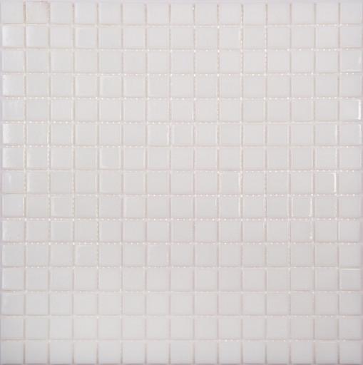 Мозаика AP02 стекло  белый (бумага)