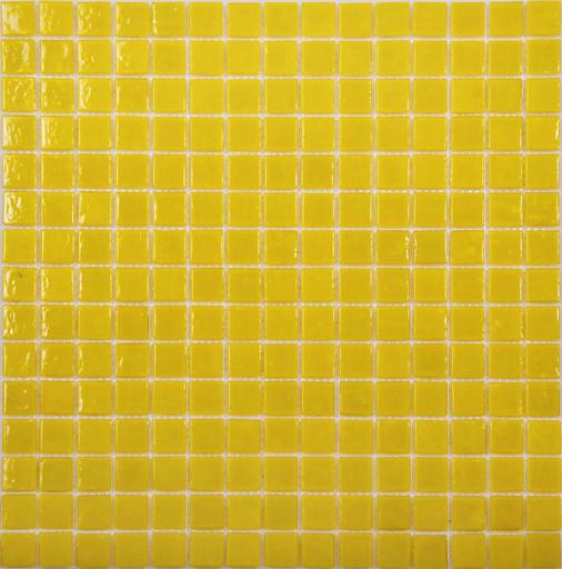 Мозаика AA11  стекло желтый (сетка)