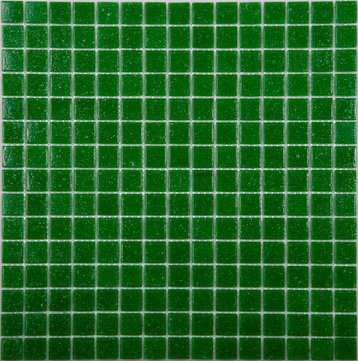 Мозаика  AC01 стекло т.зеленый (бумага)