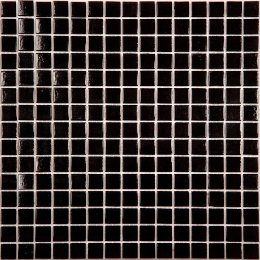 Мозаика AK01 стекло черный  (бумага)