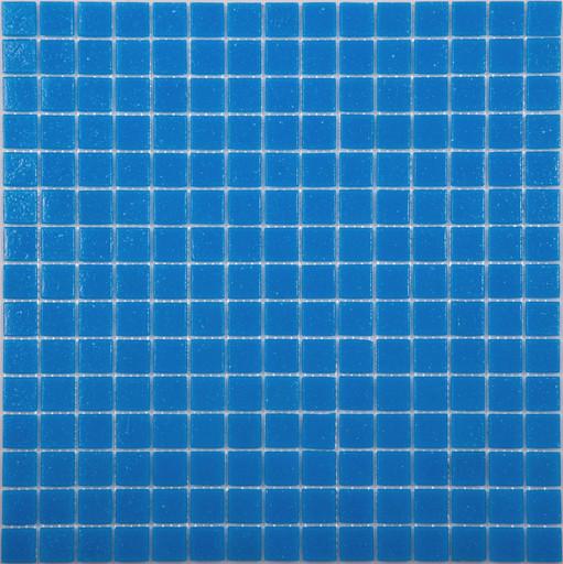 Мозаика AB02 стекло т.голубой (бумага)