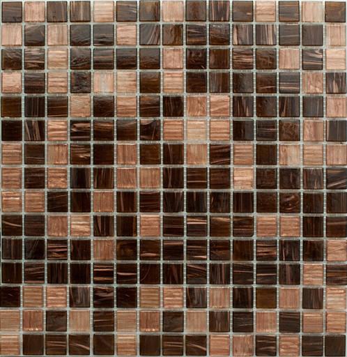 Мозаика MIX19 стекло на сетке
