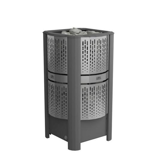 Электрические каменки GeoS RAIN-Corner. Угловые  мощностью от 6 до 9 кВт