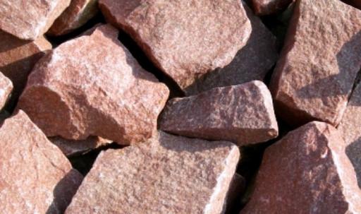 Малиновый кварцит камень для бани