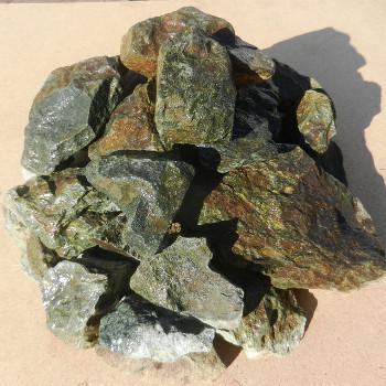 Амфиболит камень для бани