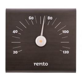 Термометр алюминиевый для сауны какао, RENTO SQ